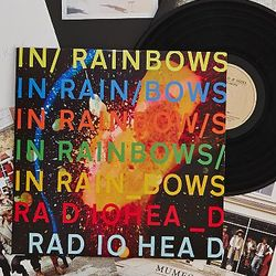 Radiohead - In Rainbows Vinyl Record