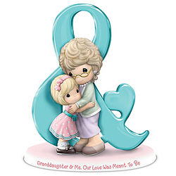 Precious Moments Grandmother & Granddaughter Love Figurine