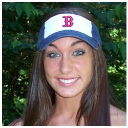 Red Sox Visor