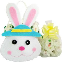 Jelly Bean Nougat Filled Easter Bunny Tote