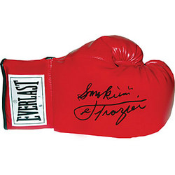 Autographed Joe Frazier Everlast Boxing Glove