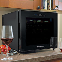 12-Bottle Touchscreen Wine Refrigerator