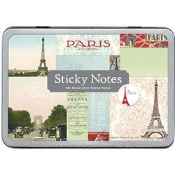Paris Sticky Notes Tin