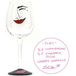 Flirt Wine Glass