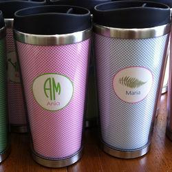 Personalized Stainless Travel Mug