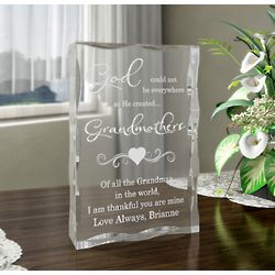 Personalized God Created You Plaque