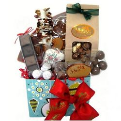 Dreaming Of A Chocolate Christmas Gift Basket