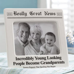Incredibly Young Looking People Become Grandparents Frame