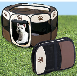 Large Portable Pop Up Pet Playpen