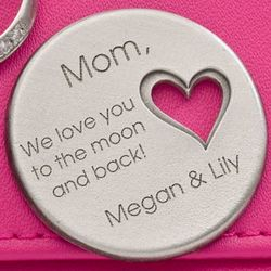 Lovely Lady Personalized Pocket Token