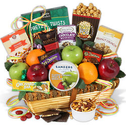 Mother's Day Orchard Fruit and Treat Basket