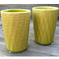 Ceramic Bamboo Cocktail Cups