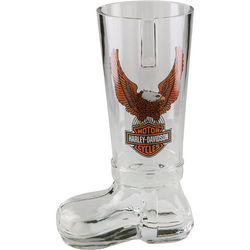 Harley-Davidson Bar and Shield Glass Boot
