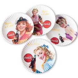 Retro Coke Ad Plates