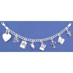 Personalized Try God Charm Bracelet