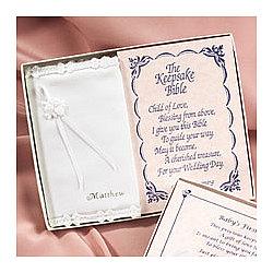 Personalized Keepsake Baby Bible