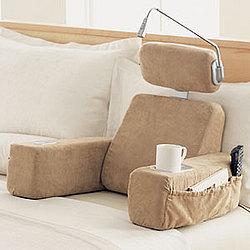 Massaging Bedrest Pillow With Heat Findgift Com
