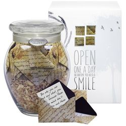 Written Pieces Jar of Messages in Mini Envelopes