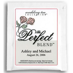 Roses Perfect Blend Tea Wedding Favor