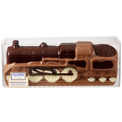 Hand-Decorated Chocolate Train