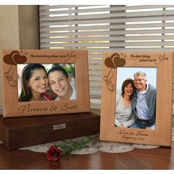 Personalized You Are the Best Thing Wooden Picture Frame
