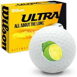 Lime Ultimate Distance Golf Balls