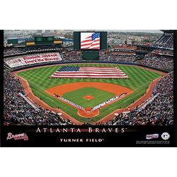 Personalized Atlanta Braves Stadium Canvas