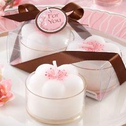 Cherry Blossom Tea Light Candles