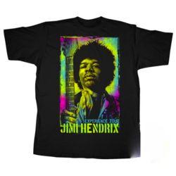 Fifth Sun Jimi Hendrix Classic Tour Blacklight T-Shirt