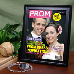 Personalized Prom Photo Magazine Cover