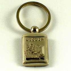 Boston Skyline Key Chain