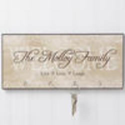 Welcome Personalized Key Plaque