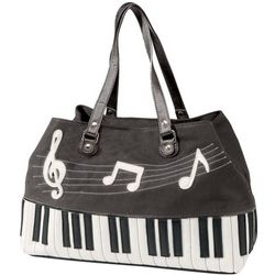 Keyboard Design Handbag