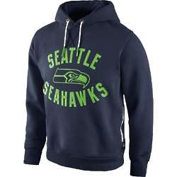 Seattle Seahawks Washed Pullover Hoodie