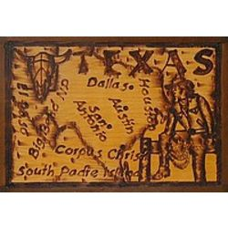 Texas Leather Photo Album in Natural