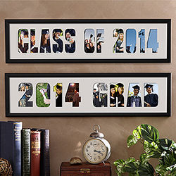 Graduation Photo Collage Personalized Picture Frame