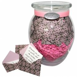 'Daydreamers Heaven' Jar of Messages in Mini Envelopes