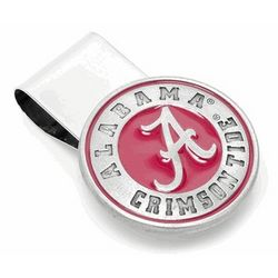 Alabama Crimson Tide Pewter Money Clip