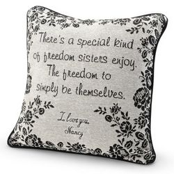Sister Special Bond Decorative Pillow