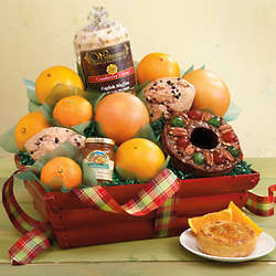 Holiday Citrus Basket