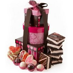 Valentine's Day Sweets Tower