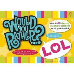 Would You Rather LOL Book