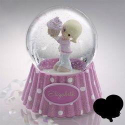 Personalized Happy Birthday Birthday Snow Globe