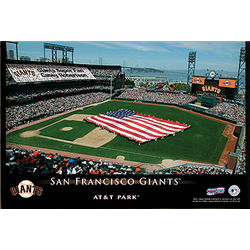 Personalized San Francisco Giants Stadium Canvas