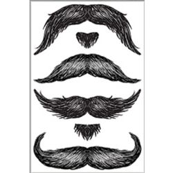 Don Juan Mustache Tattoos