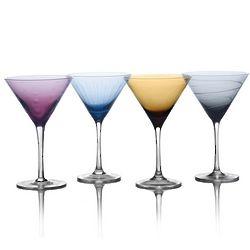 Cheers Color Martini Glasses