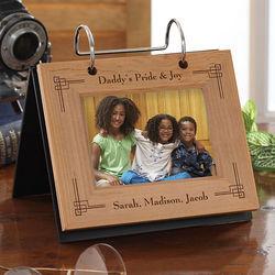 Precious Memories Personalized Flip Picture Album