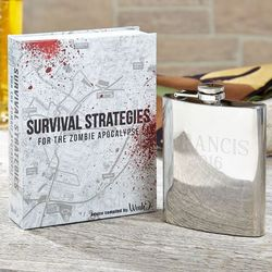 Zombie Apocalypse Hidden Flask