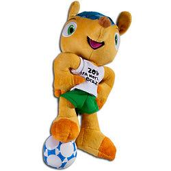 2014 FIFA World Cup Brazil Fuleco Plush Mascot