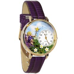 Large Fairy Watch in Gold Case